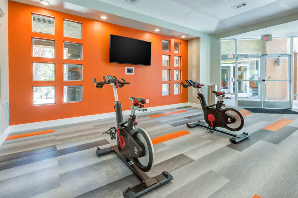 Fitness on demand room