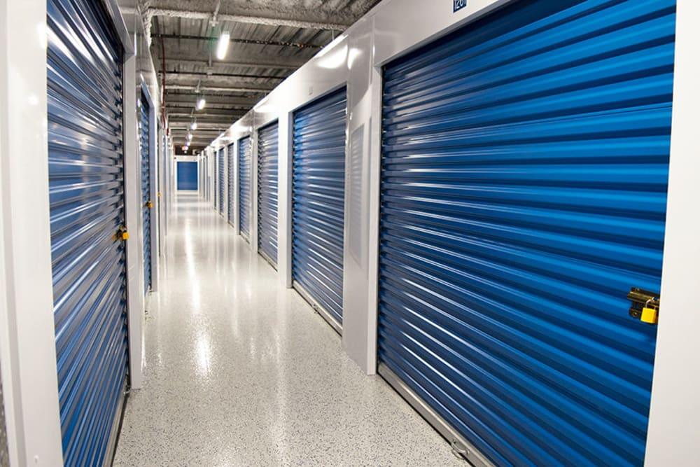 Units at Atlantic Self Storage in Jacksonville, Florida