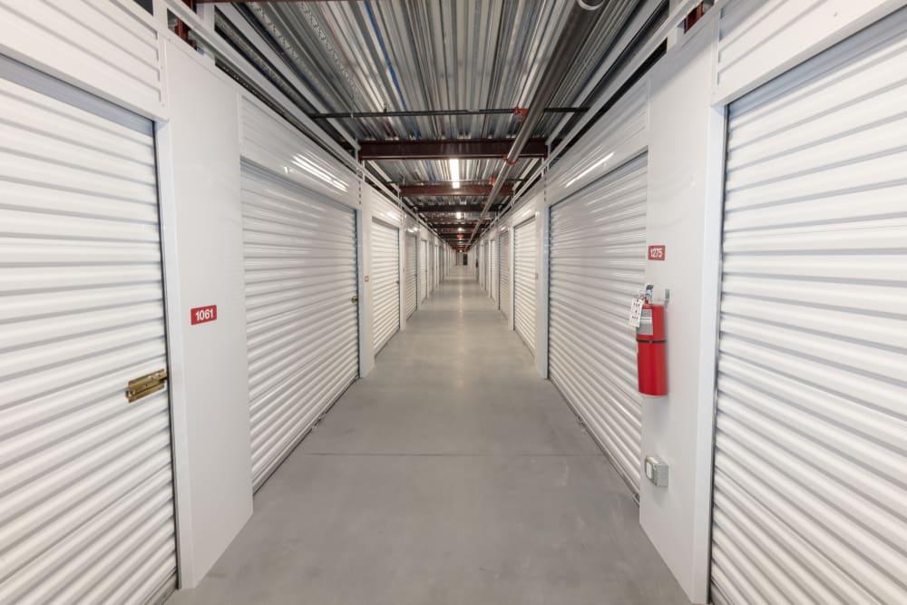 Hallway at Box Self Storage Units Loveland OH