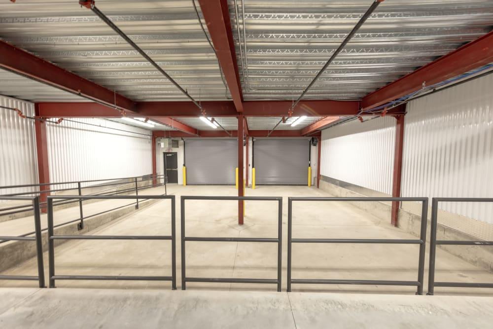loading dock at Box Self Storage Units Loveland OH