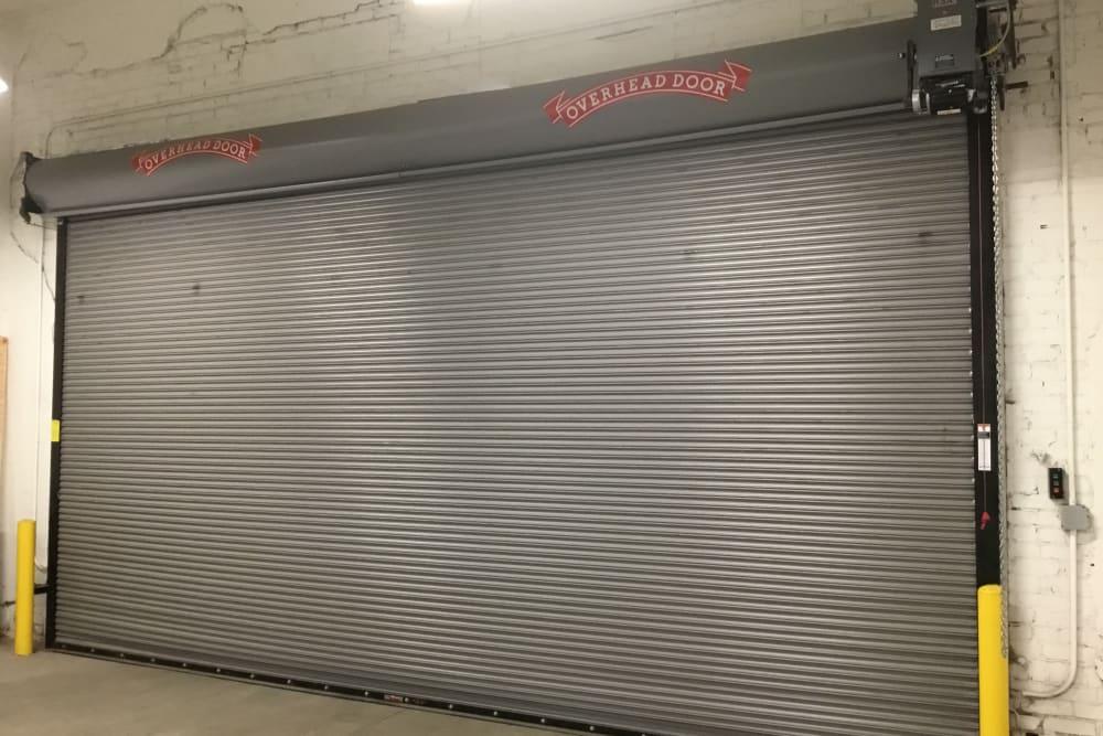 access door at  Box Self Storage Units in Cincinnati, Ohio