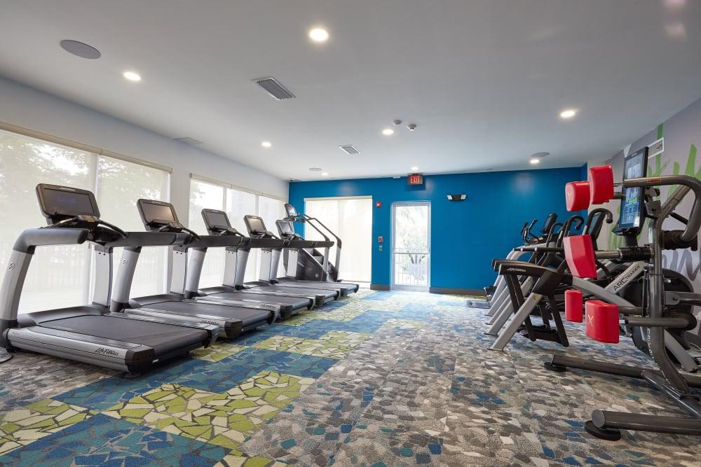 Cardio center at Aliro in North Miami, Florida