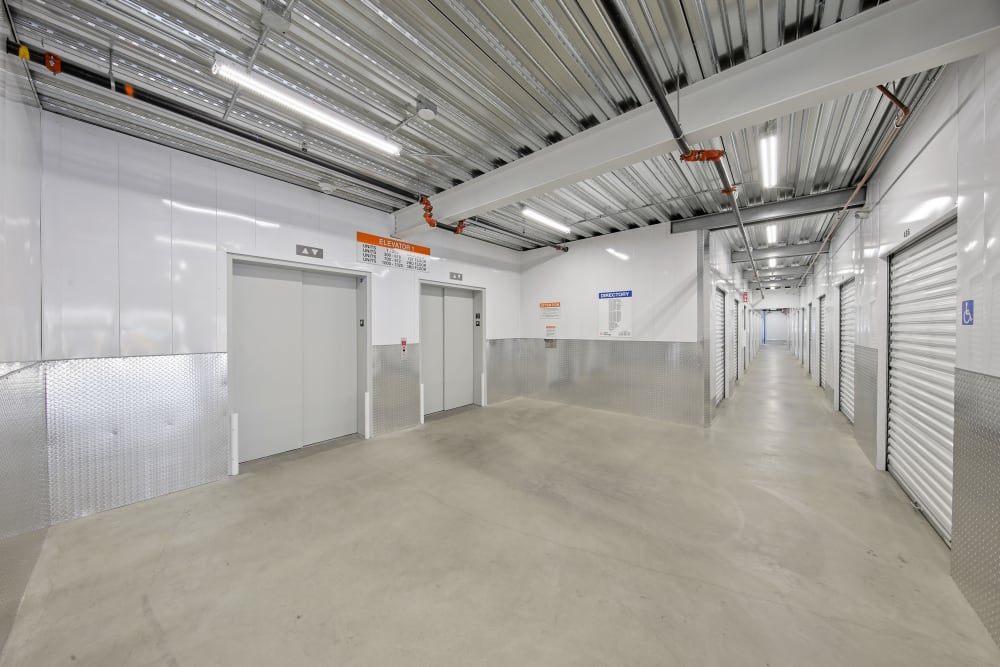 Interior of our facility at A-1 Self Storage in National City, California