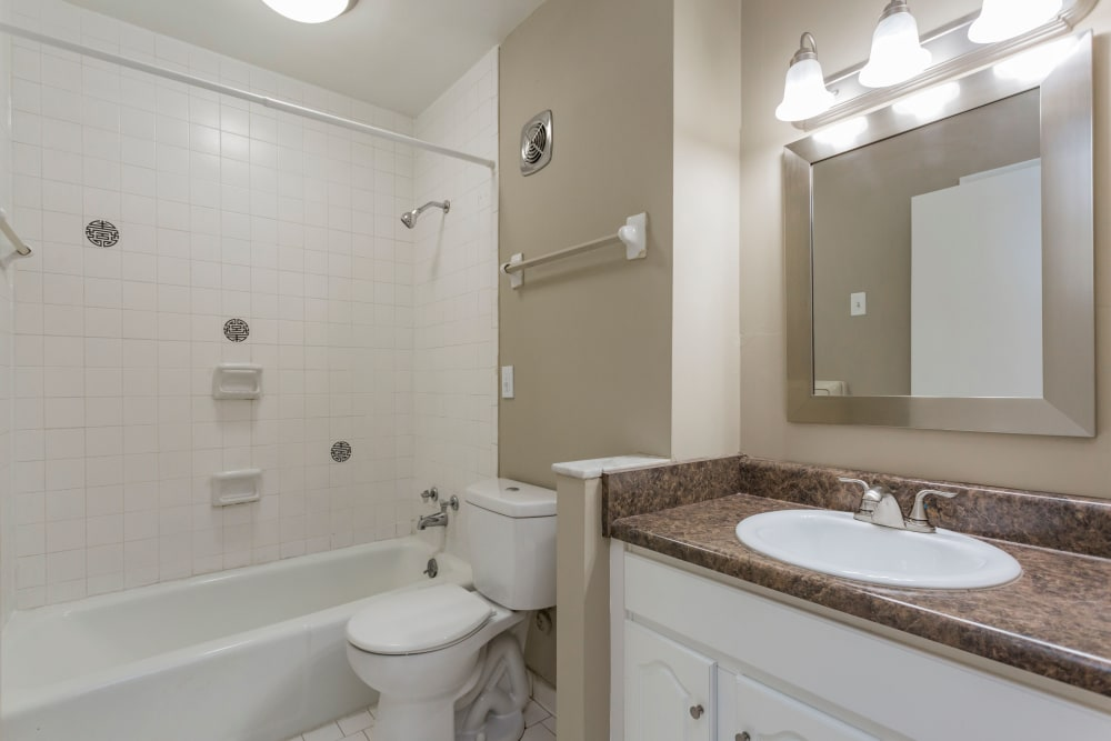 Bathroom at Belmont Place in Nashville, Tennessee