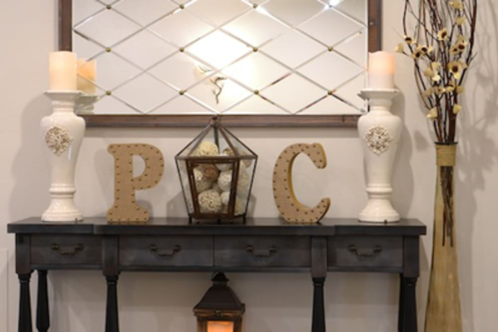 Some decorations at Peters Creek Retirement & Assisted Living in Redmond, Washington