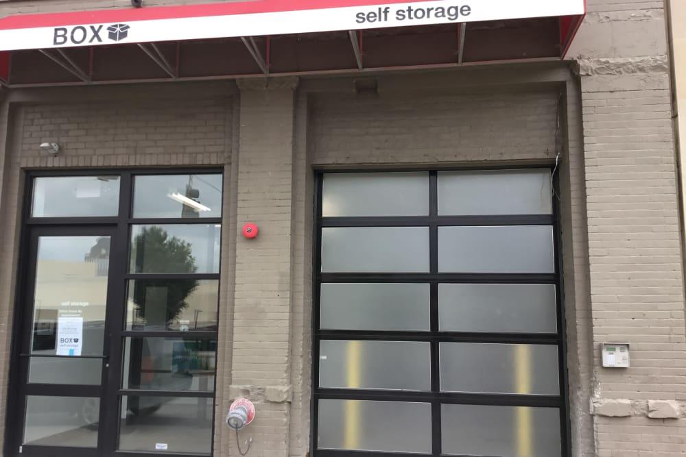 exterior door at  Box Self Storage Units in Cincinnati, Ohio
