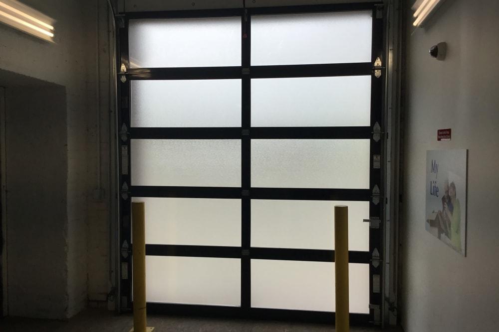 Entrance door at  Box Self Storage Units in Cincinnati, Ohio