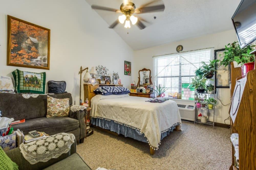 Bedroom model at Parsons House La Porte in La Porte, Texas