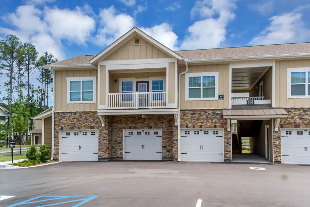 Garages Available at Lullwater at Blair Stone in Tallahassee, Florida