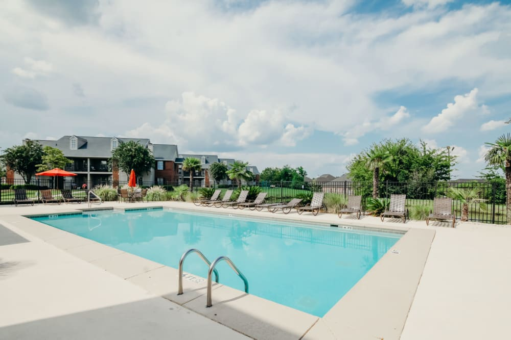 Swimming Pool at Peppertree in Montgomery, Alabama