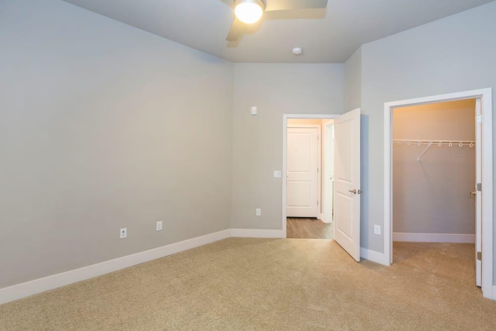 Master bedroom at The Overlook at Interquest in Colorado Springs, Colorado