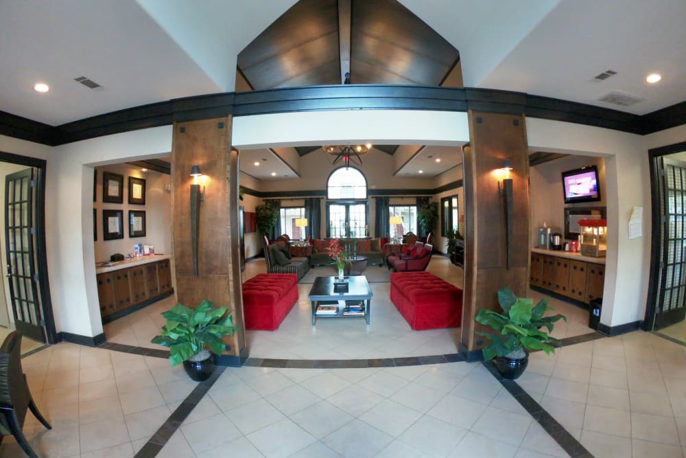 Main foyer at 2929 Dunvale in Houston, Texas