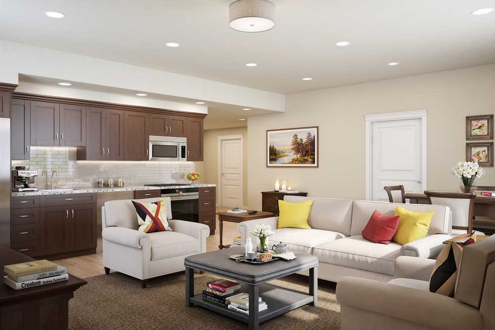 Independent living at Touchmark on West Century.