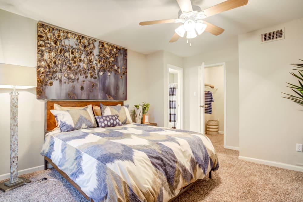 Bedroom at Carmel Creek in Houston, Texas