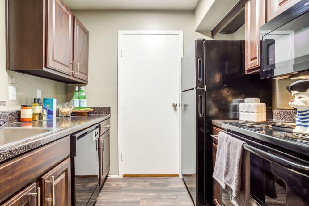Kitchen at Carmel Creek in Houston, Texas