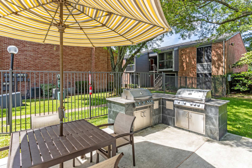 BBQ Area at Apartments in Houston, Texas