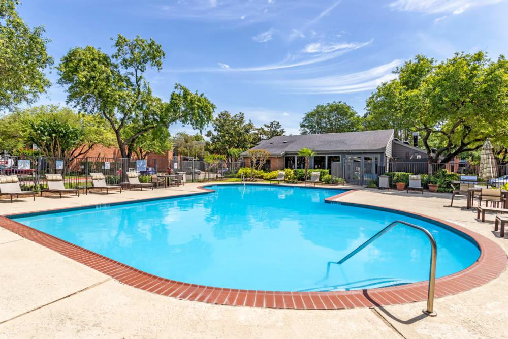 Swimming Pool at Carmel Creek in Houston, Texas