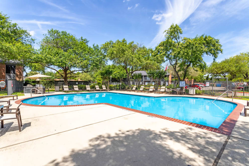 Swimming Pool at Apartments in Houston, Texas