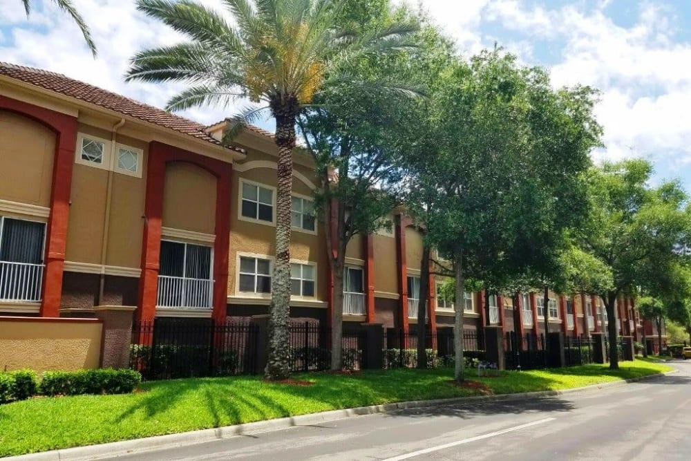 Beautiful modern exterior at Amara at MetroWest in Orlando, Florida