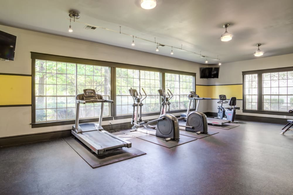 Fitness Center at Parc @ Champion Forest in Houston, Texas