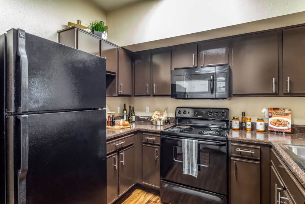 Kitchen at Parc @ Champion Forest in Houston, Texas