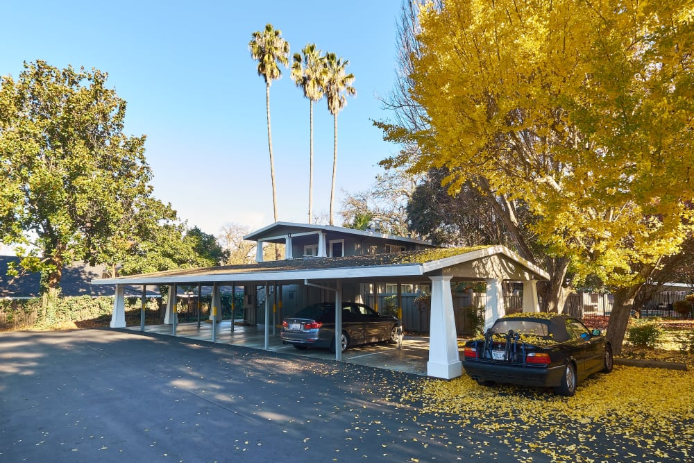 Covered parking at Allure in Alamo, California