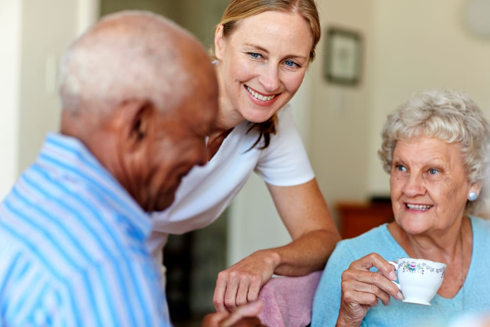 Assisted living at Villa Maria Care Center in Tucson, Arizona