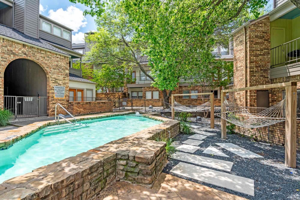 Swimming Pool at Watermarke Apartments in Fort Worth, Texas