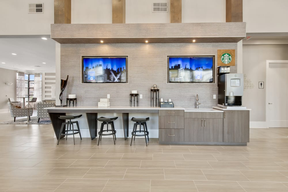 Starbucks coffee bar at Steele Creek in Jacksonville, Florida
