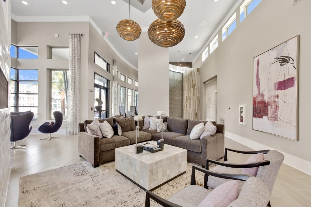 Steele Creek's interior lounge area at Steele Creek in Jacksonville, Florida