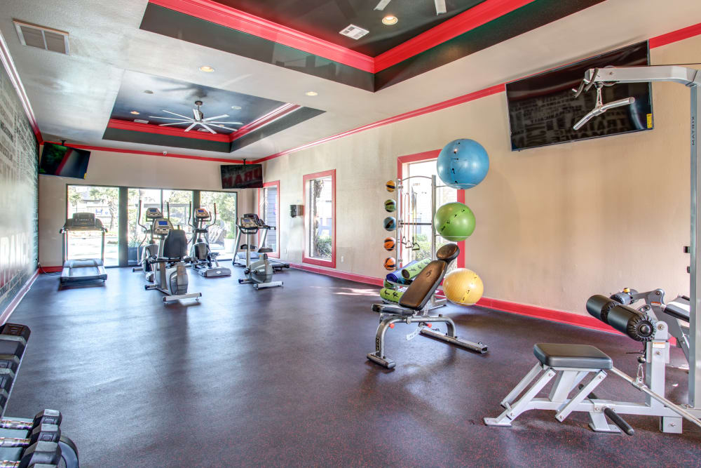 2400 Briarwest in Houston, Texas  offers a fitness center
