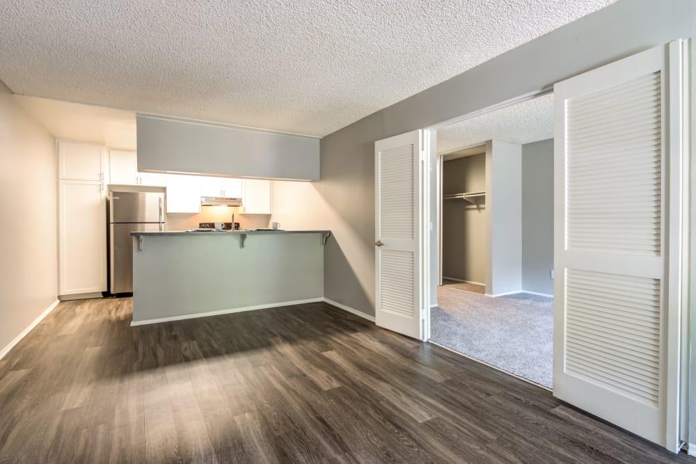 Living Room at Hillside Terrace Apartments in Lemon Grove