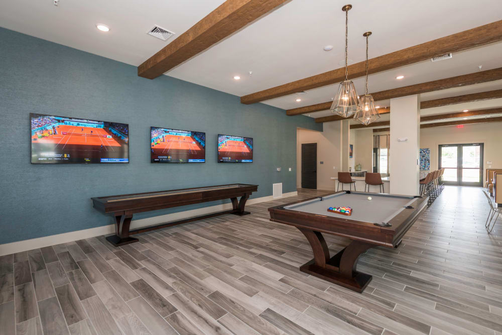 Sports Lounge at Silver Collection at Carl D. Silver Parkway in Fredericksburg, Virginia