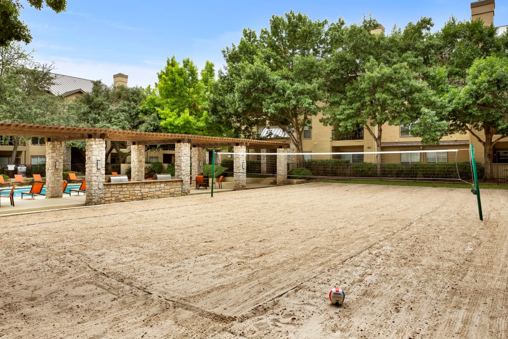 Our Apartments in San Antonio, Texas offer a Volleyball Court