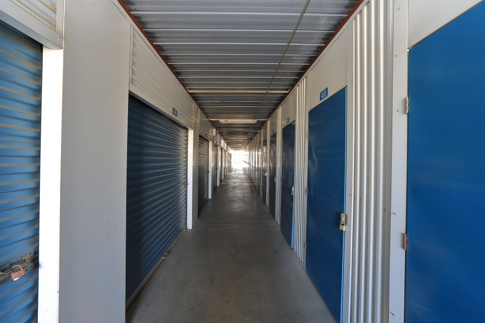 Indoor units available at Storage Solutions in Riverside, California