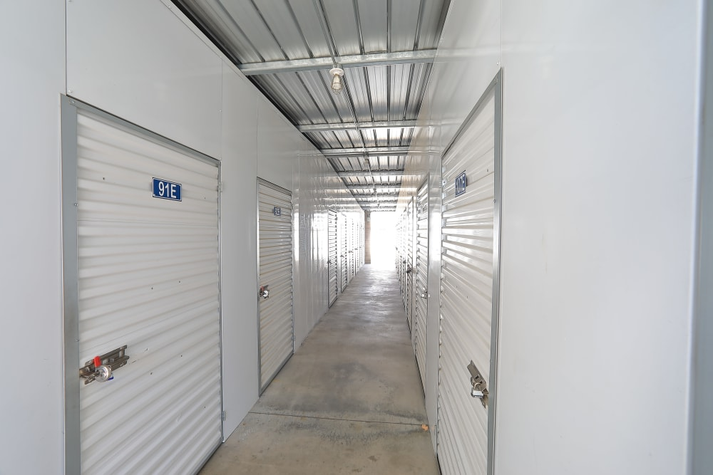 Indoor units available at Storage Solutions in Moreno Valley, California