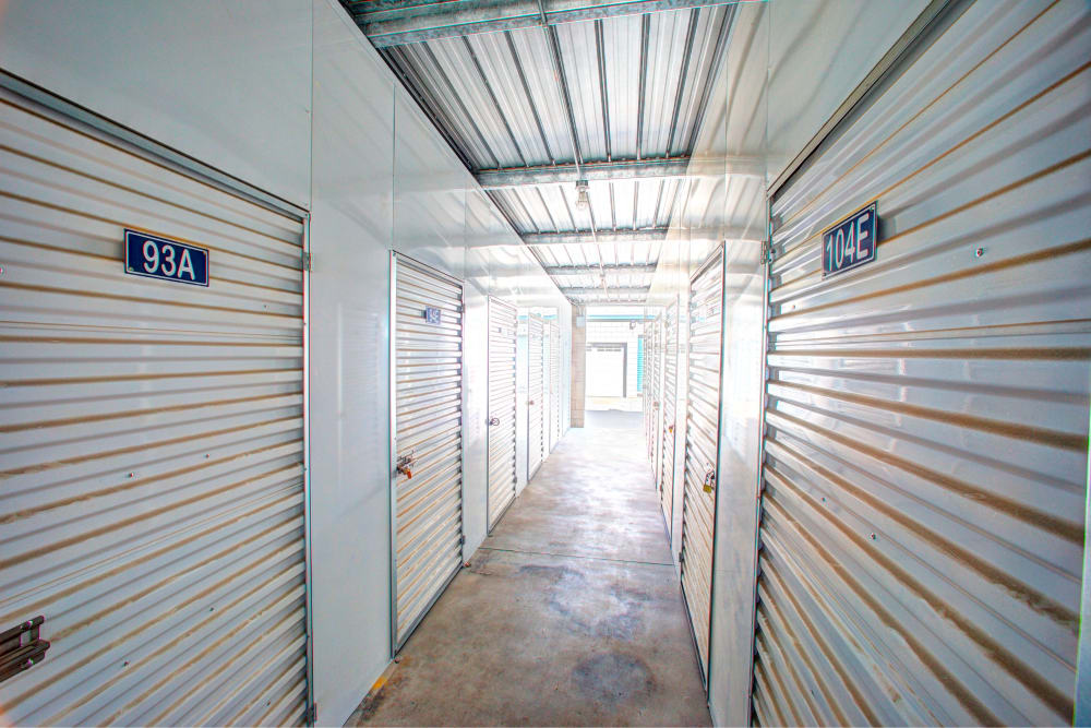 Indoor units available for rent at Storage Solutions in Moreno Valley, California