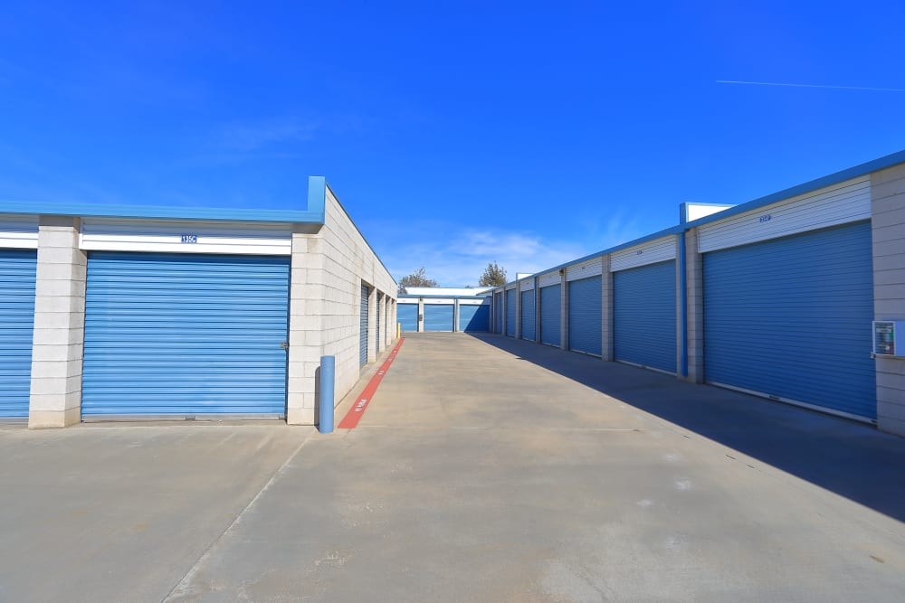 Business storage at Storage Solutions in Moreno Valley, California
