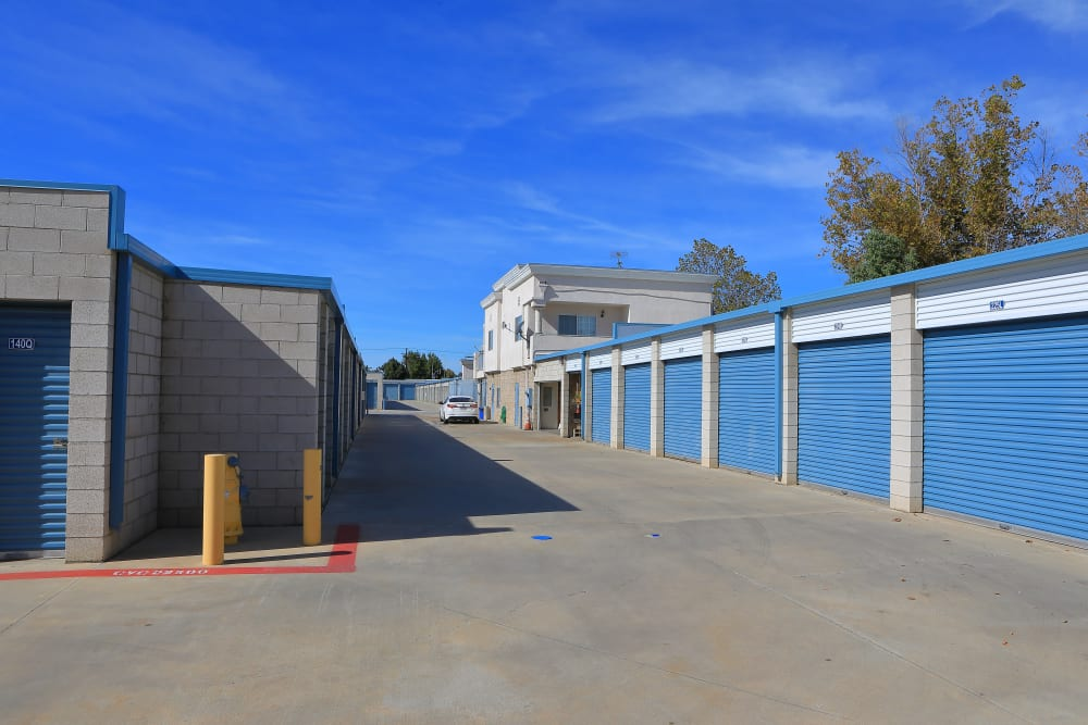 Small and large storage units available at Storage Solutions in Moreno Valley, California