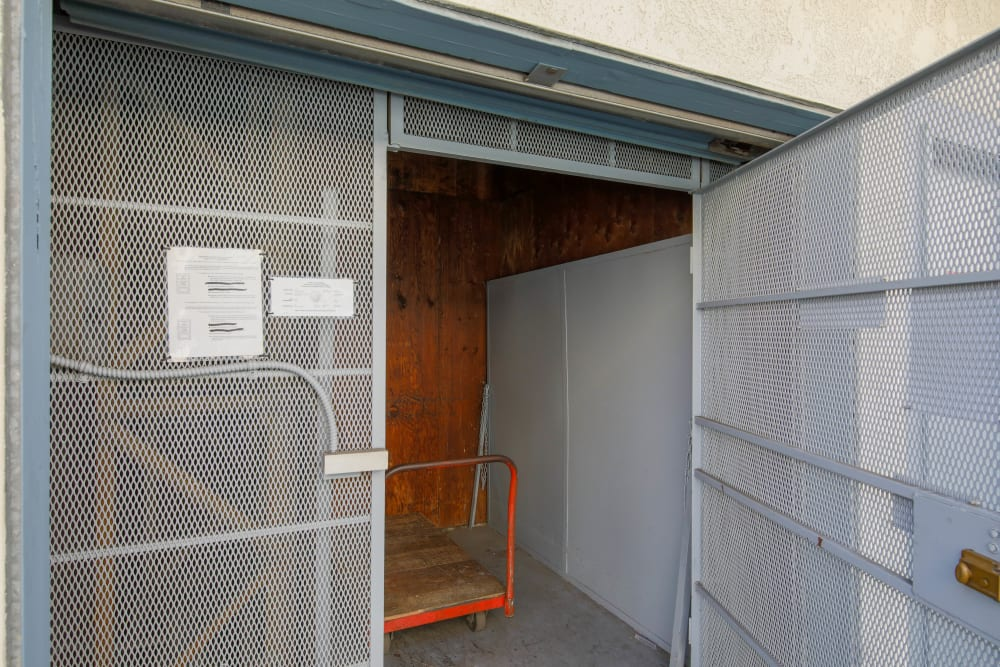 Elevator for use at Storage Solutions in Capistrano Beach, California