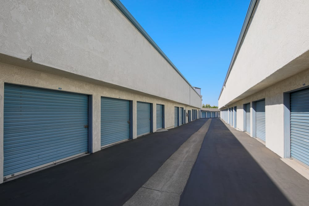 Outdoor units at Storage Solutions in Capistrano Beach, California