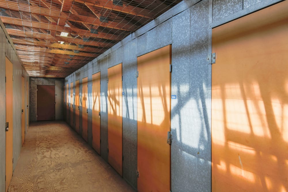 Small storage units for rent at Storage Solutions in Capistrano Beach, California