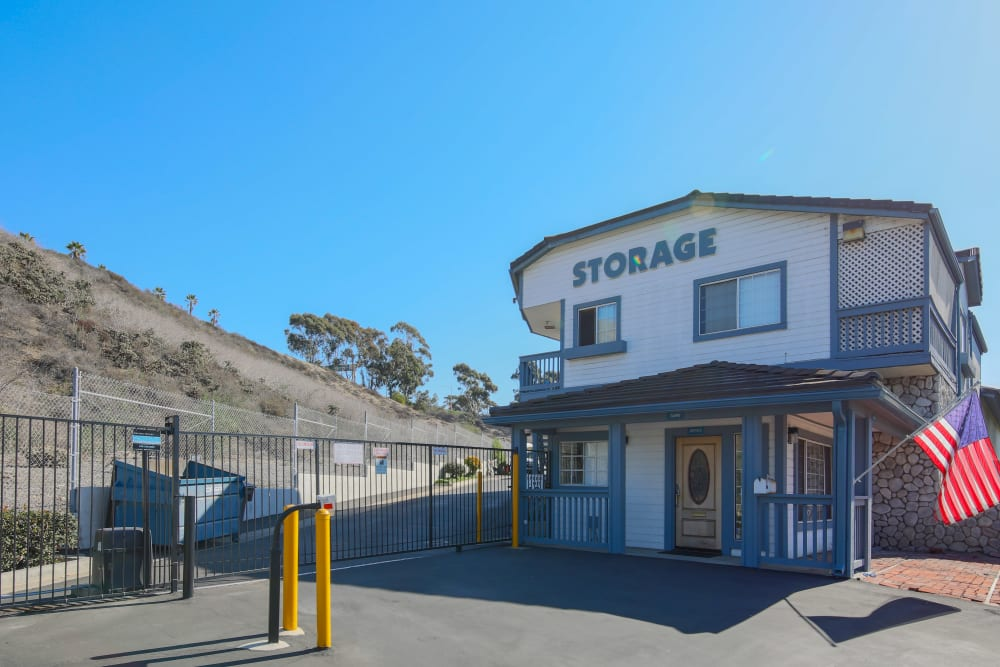 Storage units available at Storage Solutions in Capistrano Beach, California