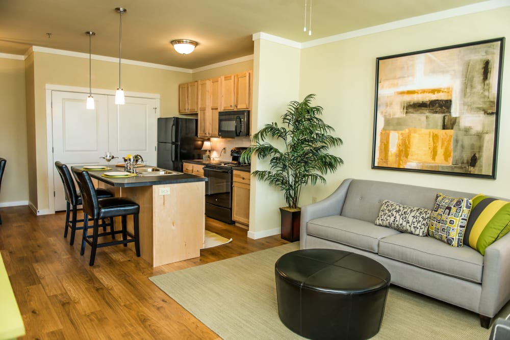 Open floor plans at Traditions at Westmoore in Oklahoma City, Oklahoma.