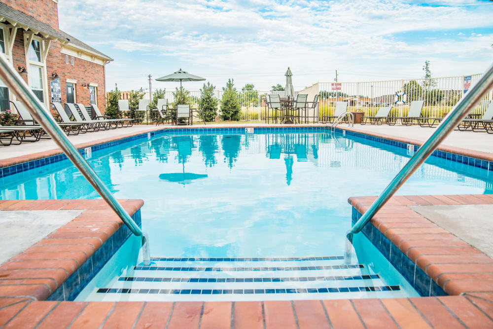 Swimming pool at Traditions at Westmoore in Oklahoma City, Oklahoma.