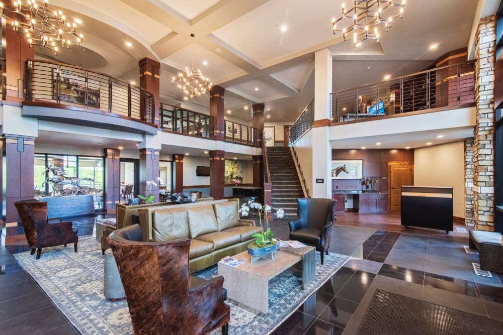 Inside of a Overland Property Group home