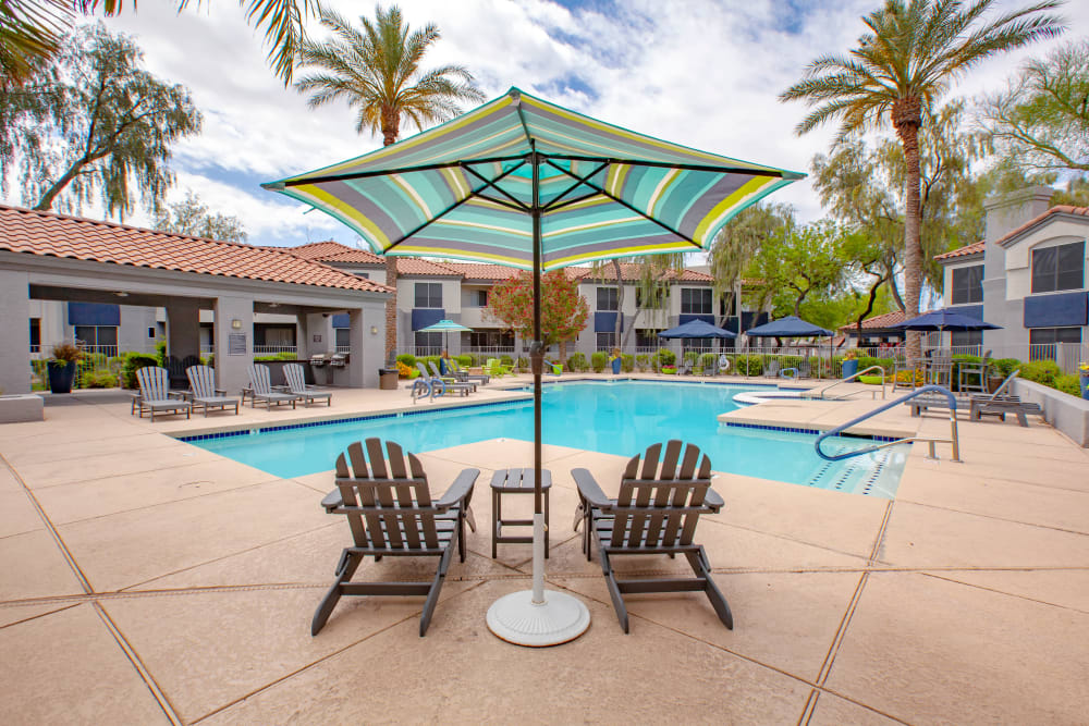 Swimming Pool at Apartments in Phoenix, Arizona