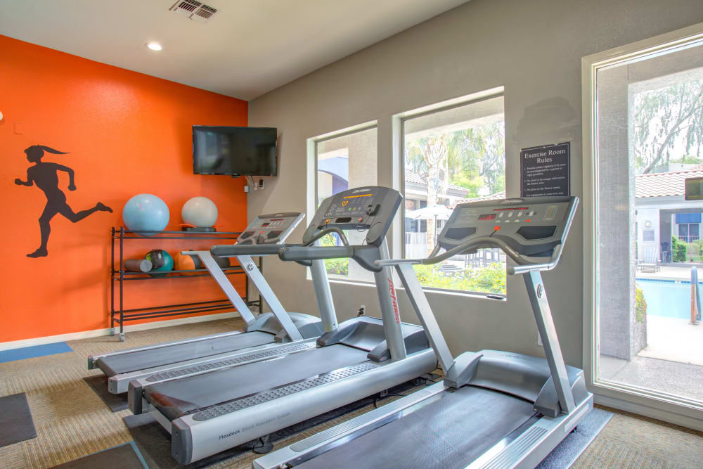 Fitness Center at Apartments in Phoenix, Arizona