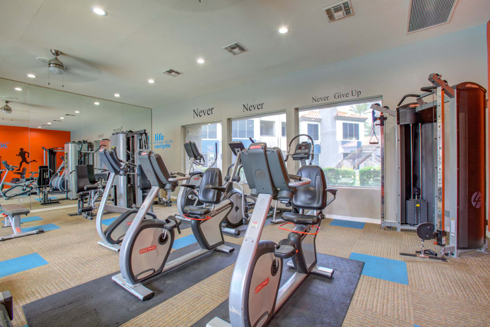 Our Apartments in Phoenix, Arizona offer a Fitness Center