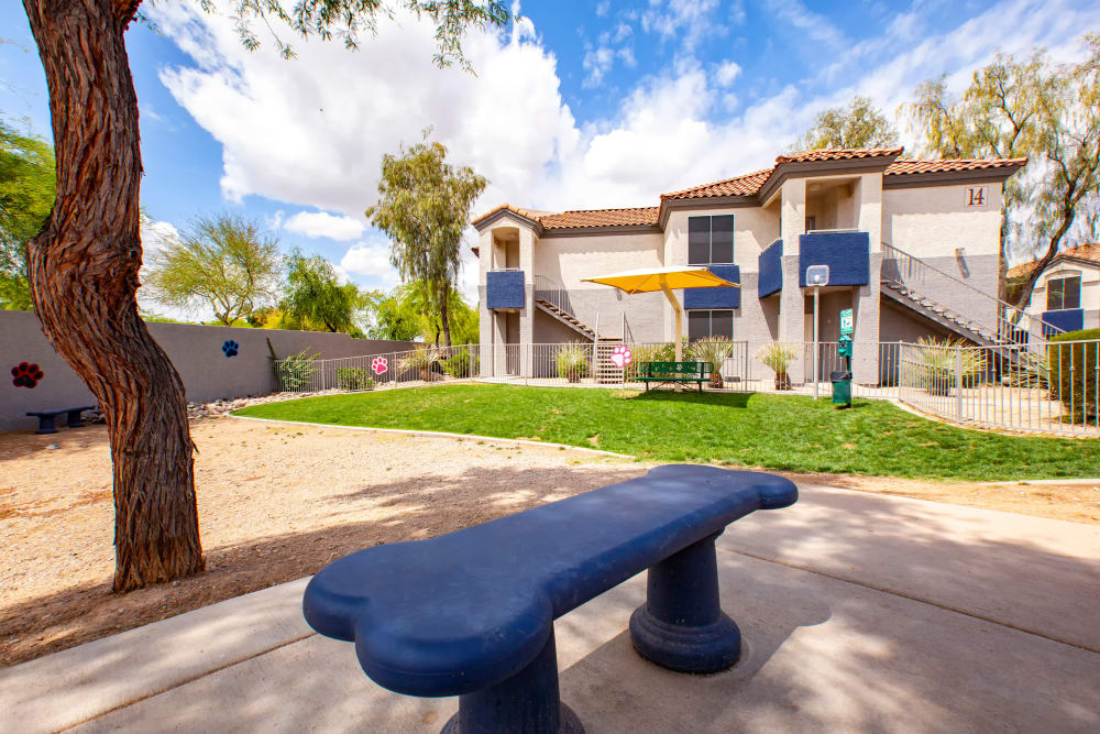 Dog Park at The Retreat Apartments in Phoenix, Arizona